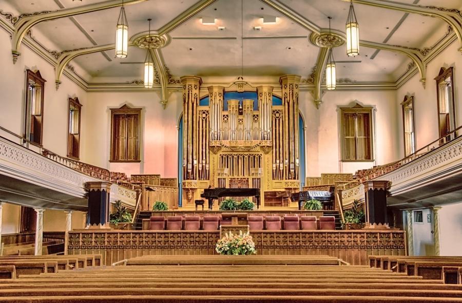Salt Lake Temple Interior Photos