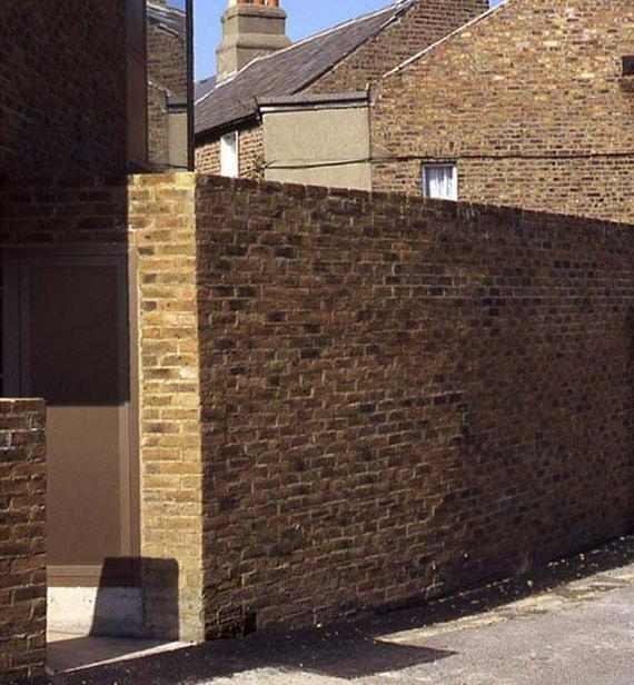 brick boundary wall design home residential