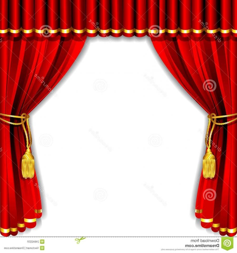 Theatre Curtain Finishes Explained - (unfinished stage curtains...