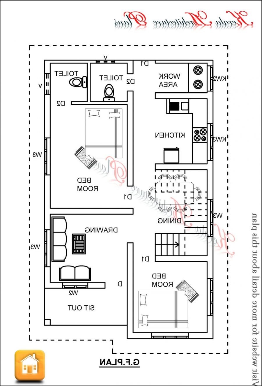 Ground floor plan. 1x1.trans Kerala House Plans 1200 sq ft ...