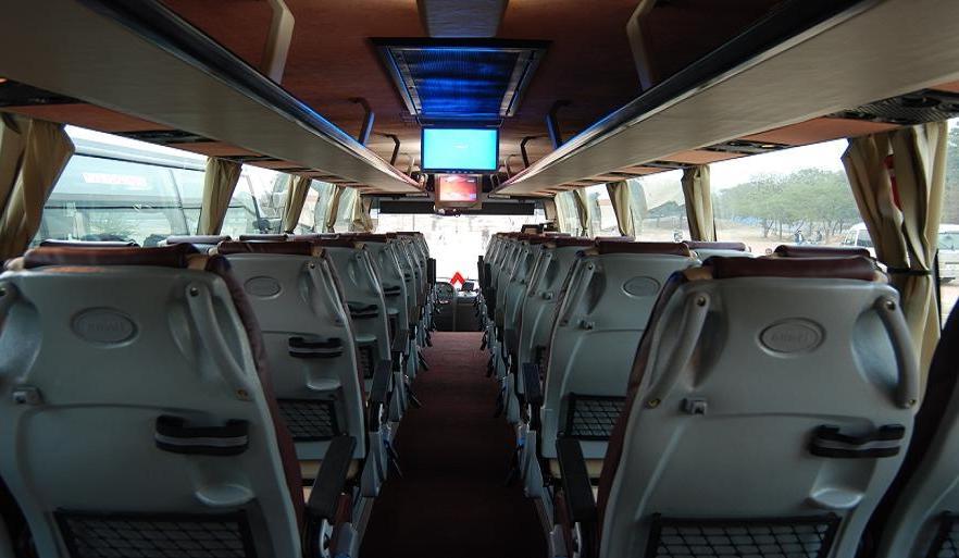 Volvo bus interior photos