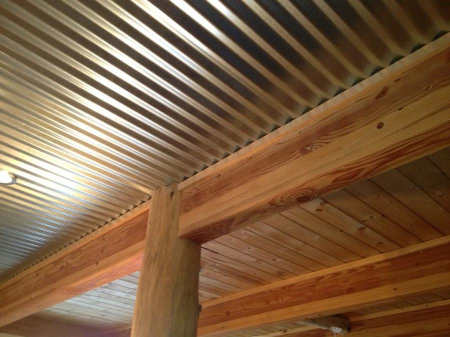 Anyone use Galvanized tin on shop ceiling - The Garage Journal ...