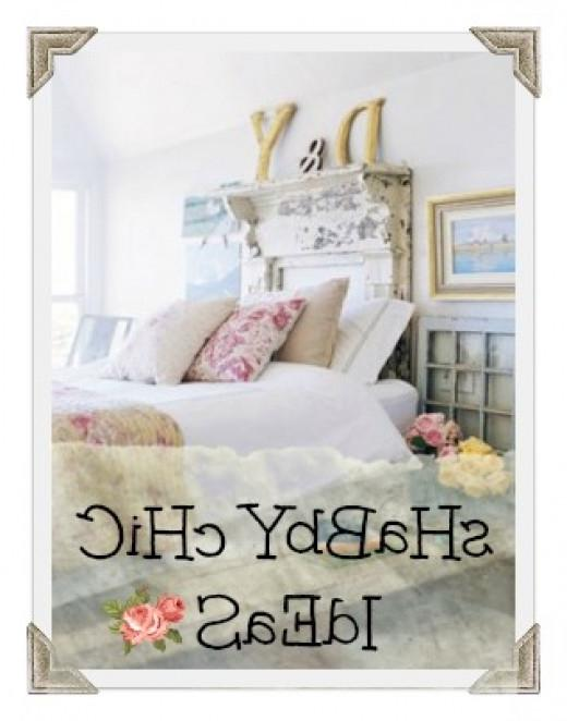 Ideas for decorating your bedroom in Shabby Chic - French Country...