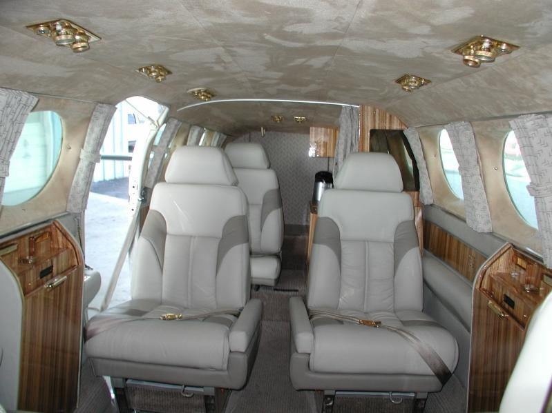 Cessna 421 Interior Photos