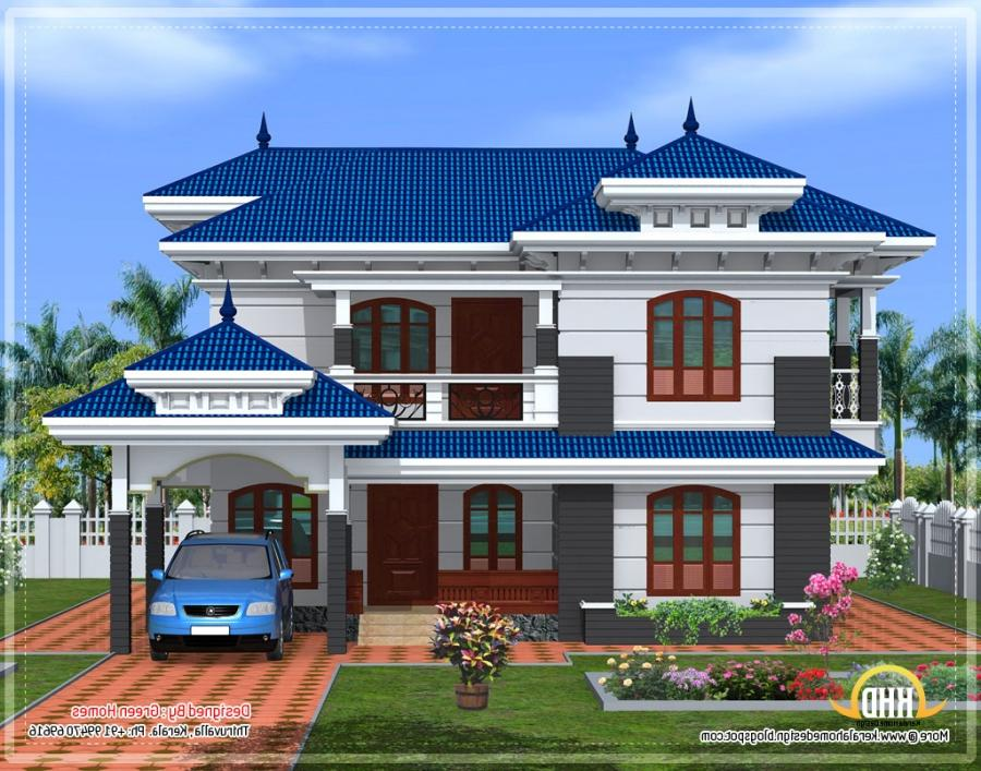 Luxury House Front Elevation : Marla luxury houses front elevation design joy studio