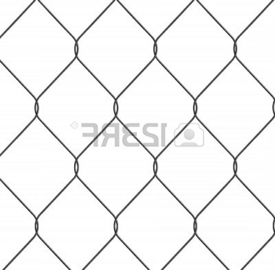 Stock Photo - close up of chain link fence nice detail good...