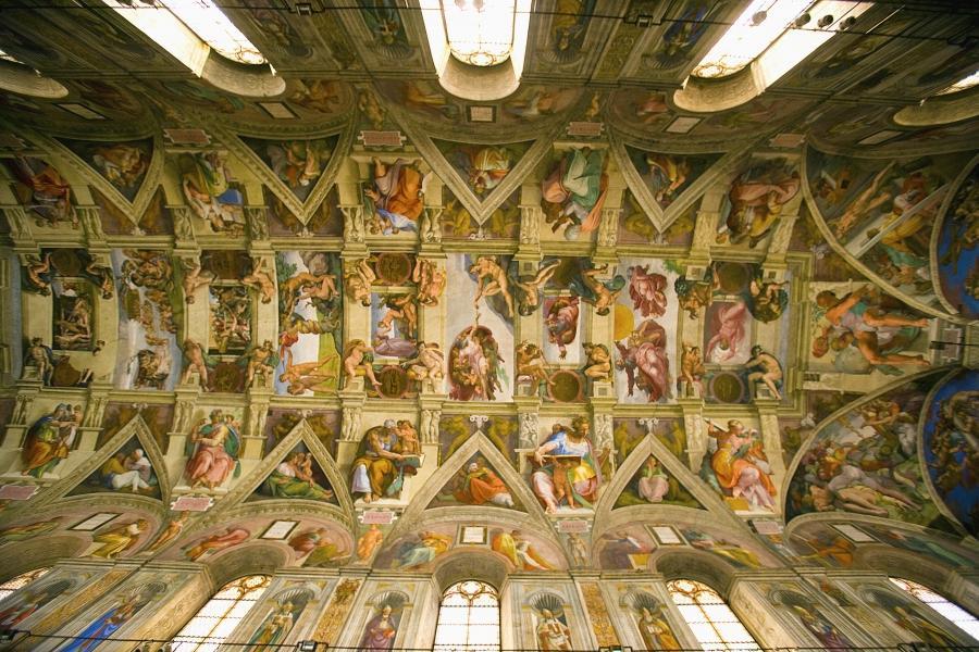 Sistine Chapel Ceiling Photos