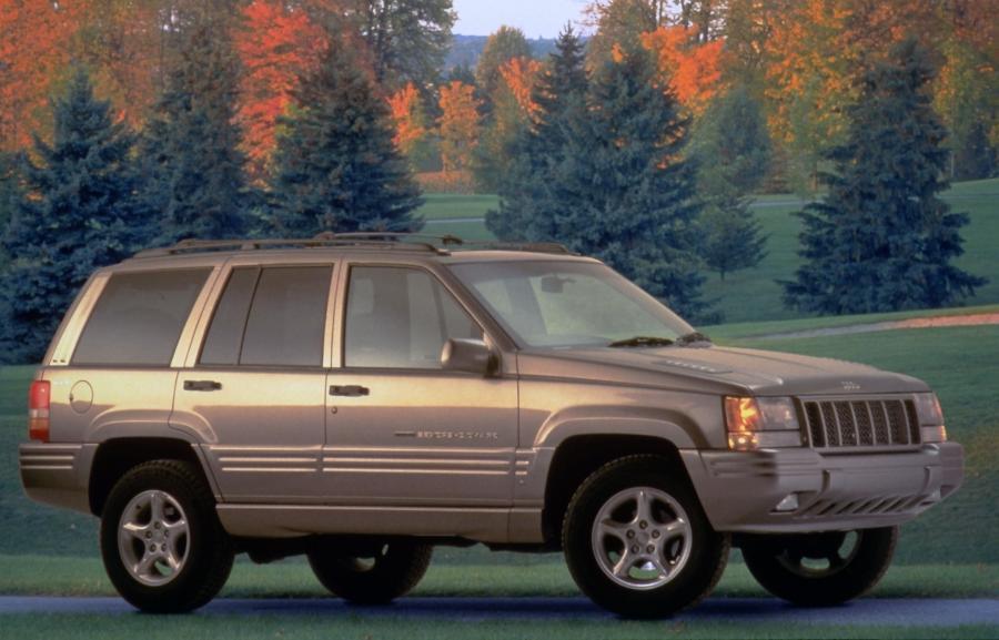 1997 Jeep Grand Cherokee Interior Photos