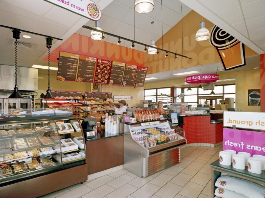 Dunkin donuts interior photos