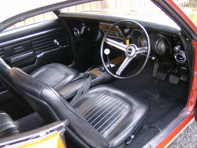 1968 camaro interior photos