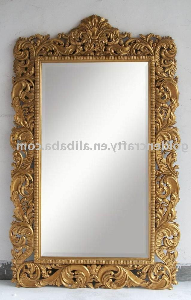 Floor photo frames for Gold frame floor mirror