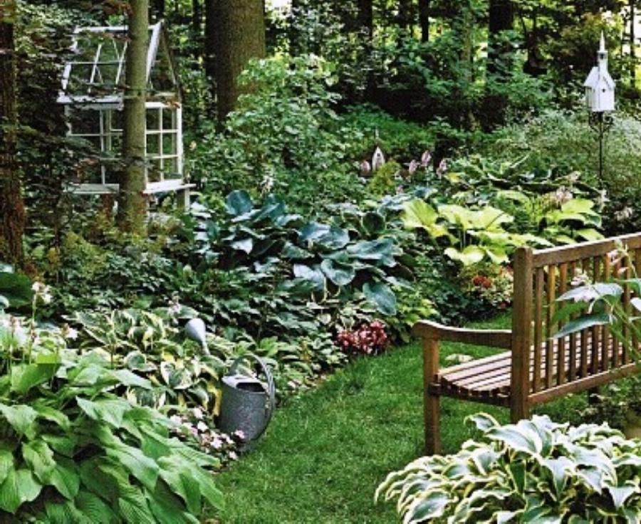 French country garden photos for Country garden design ideas