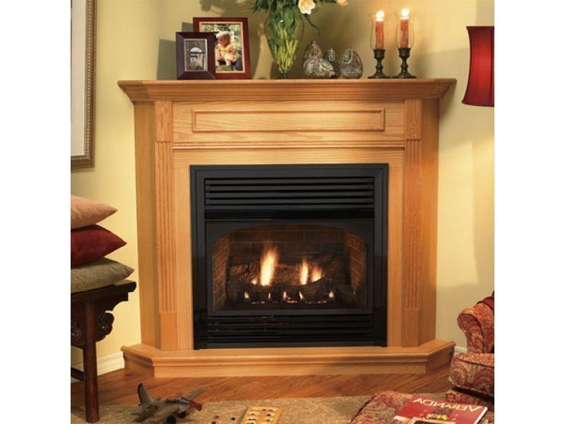 Corner Gas Fireplace Photos
