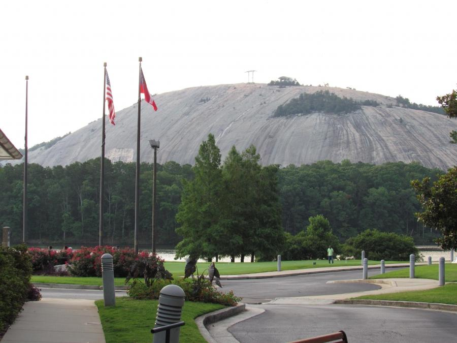 Stone Mountain Park also includes two golf coursesu2013and, to...