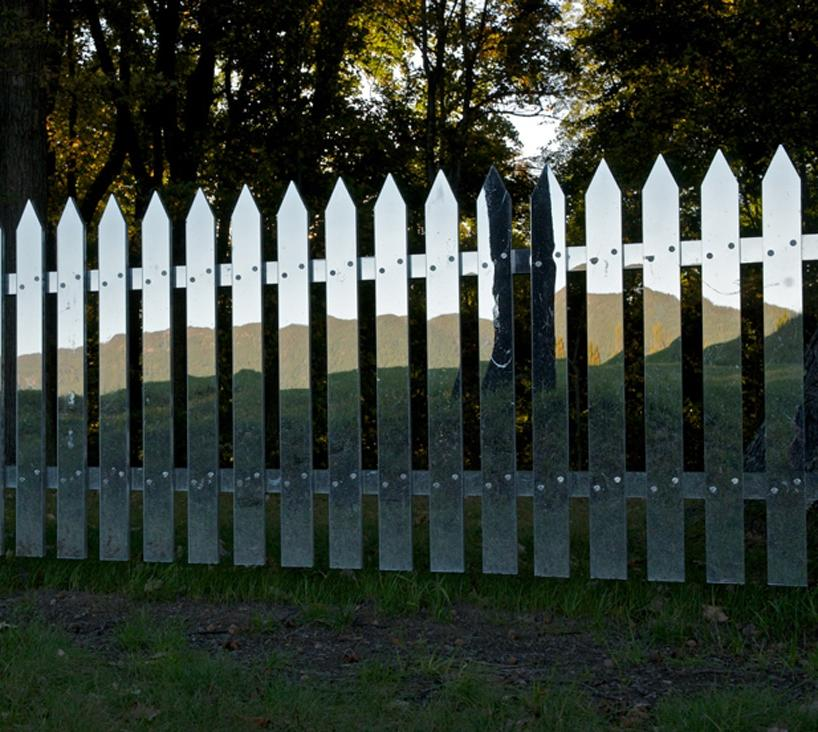 Collect this idea mirror fence 4 Mirror Fence Reflecting the Ever...