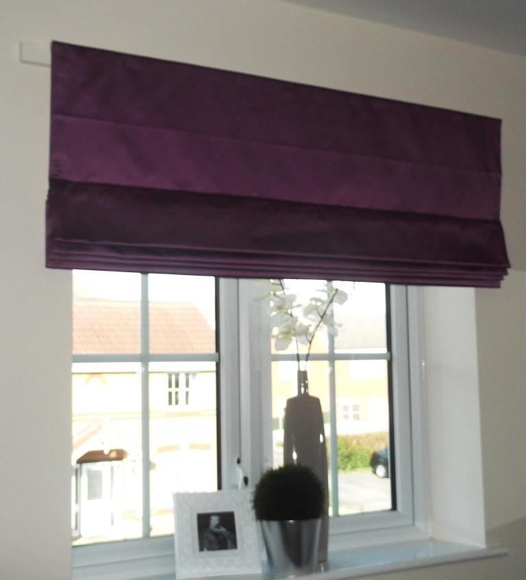 Photos of roman blinds for Blinds outside recess