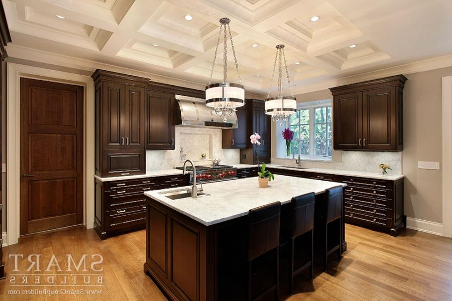 Attractive Arrangement For Creative Kitchen Design Island