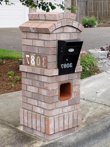 Brick Mailbox Photos