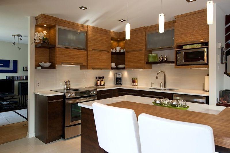Photos decoration cuisine moderne for Deco cuisine hetre