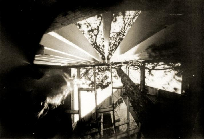 Peggy Taylor Reid, Pinhole 1 918 in May, 2011