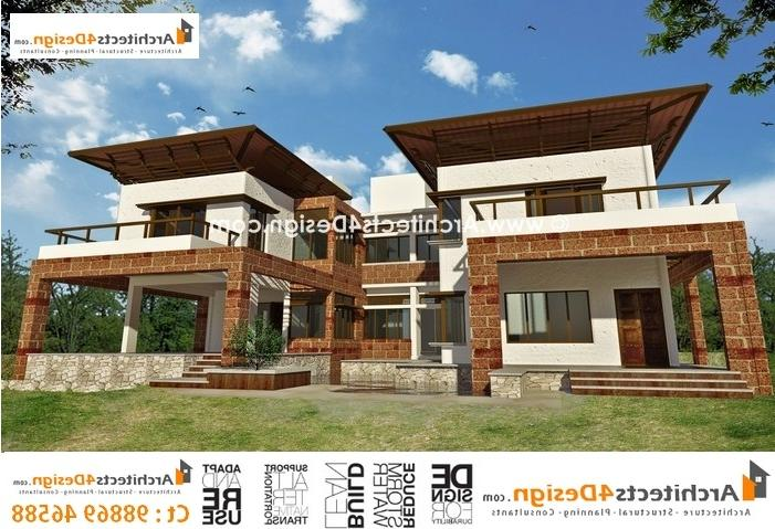 Front Elevation Of House In Bangalore : Elevation design photos residential houses