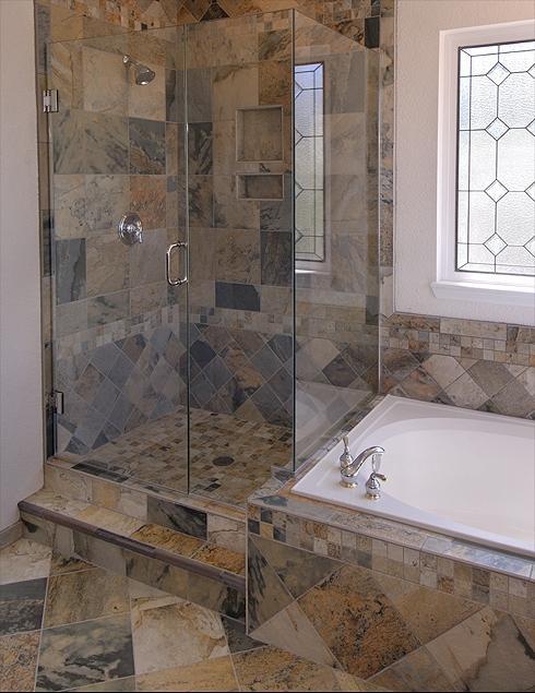 Porcelain Tile Shower Photos