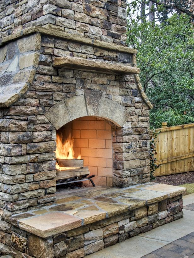 Old Stone Fireplace Photos