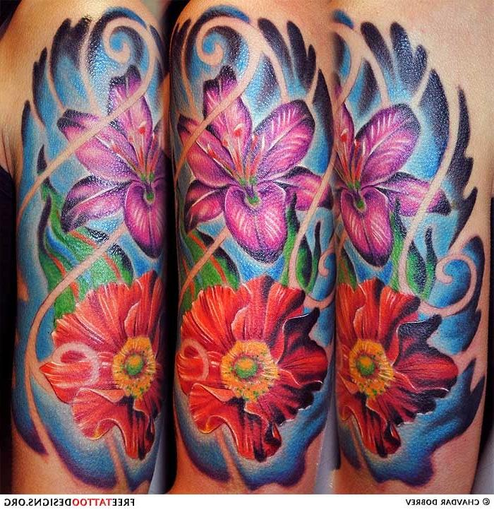 Exotic Flower Tattoos: Photos Exotic Flower Tattoos