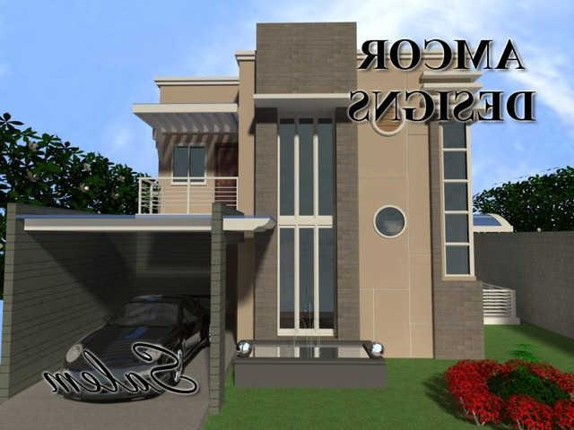 Modern House Constructions Designs, Zen Typed, With Exterior And...