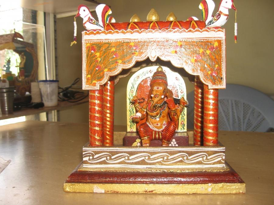 Ganesh Mandap Decoration Photos