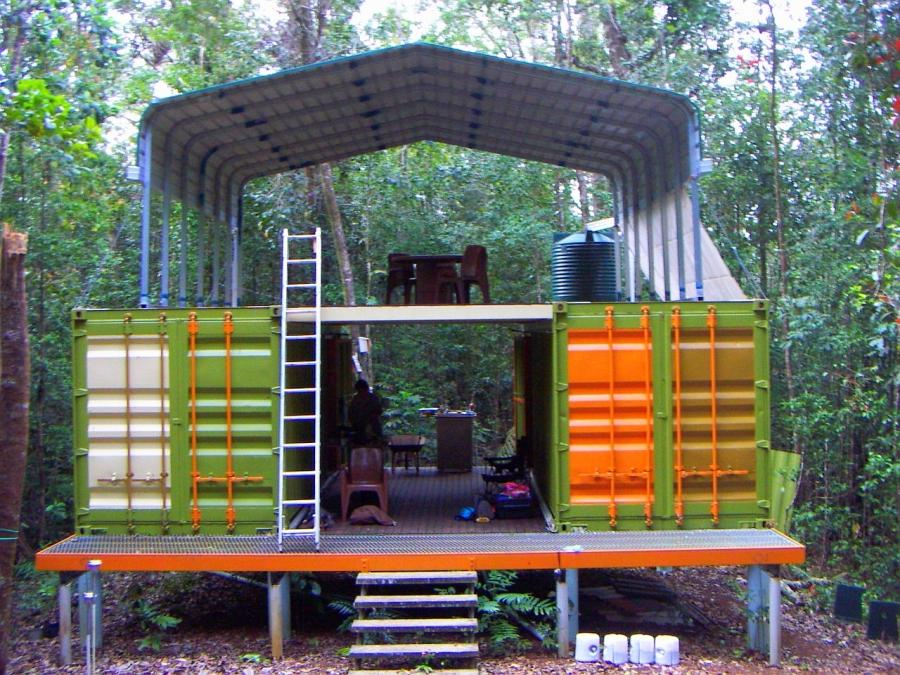 Shipping Crate Houses Photos