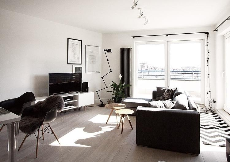 Living room decor photos rich and famous for Scandinavian decor on a budget