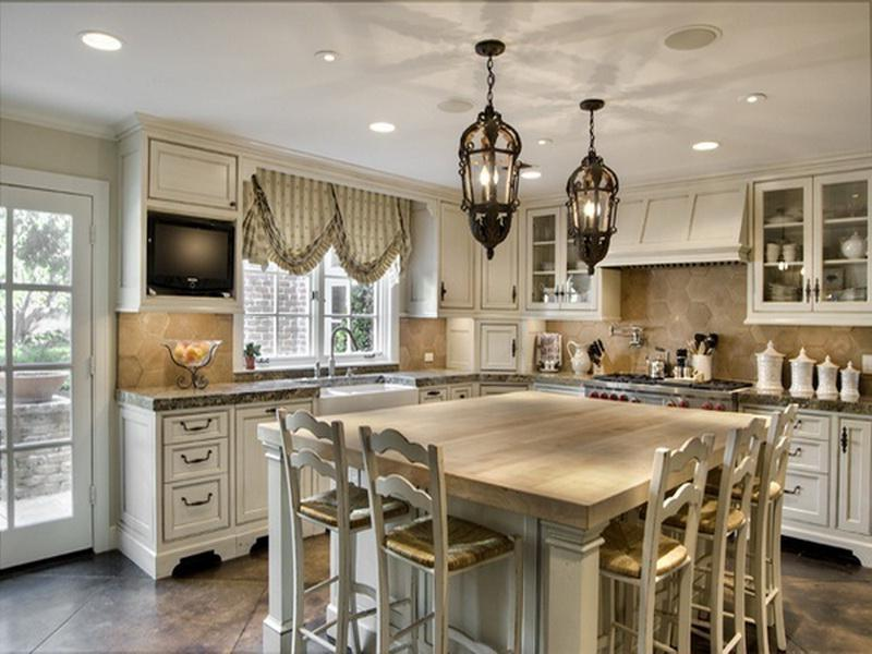 ... Luxury-French-Country-Kitchen ...