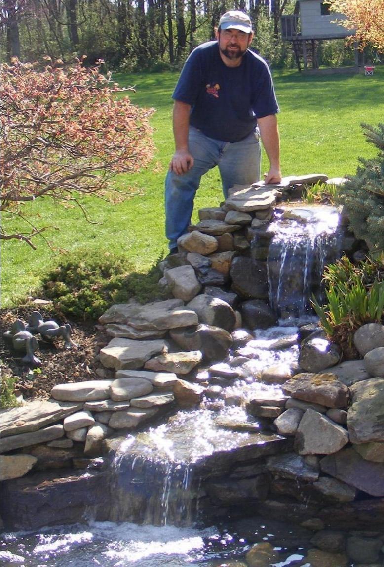 Small garden waterfall photos for Artificial pond in garden