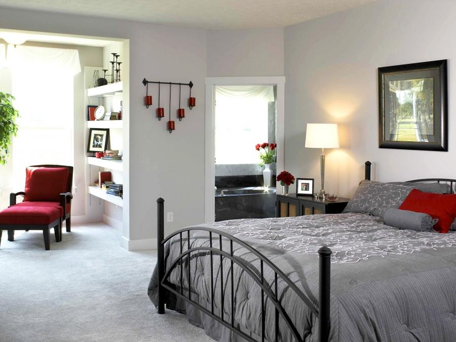 Home Interior : White Bedroom Interior Design Beautiful Home...