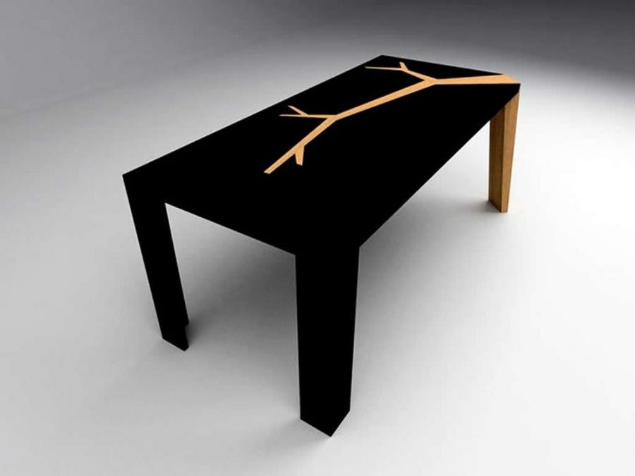 Wood Furniture Design Of Angkor Dining Table By Olivier Dolle