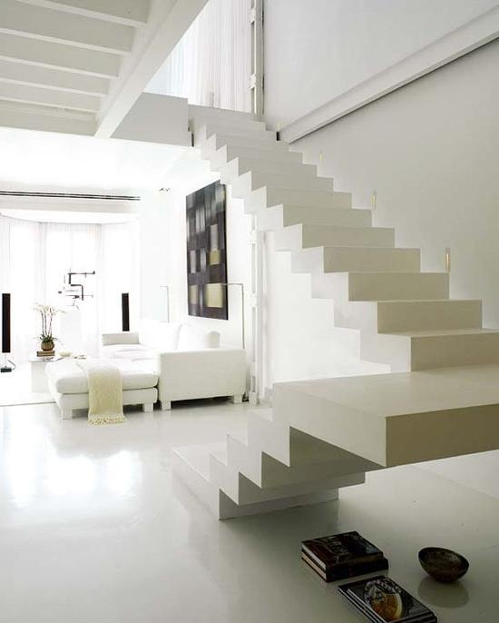 dream home duplex with white interiors in spain home design