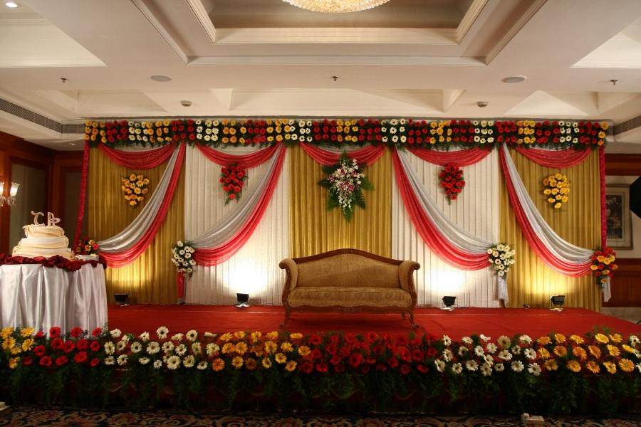 Check Here Latest Wedding Stage Decorations ,