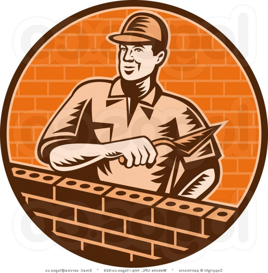 Brick Vector Picture Brick Veneers: Brick Layer Photo