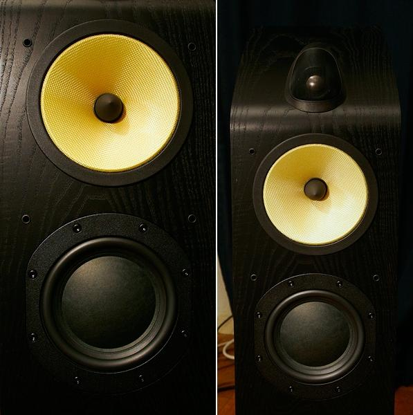 Bowers  Wilkins 703 Fronts