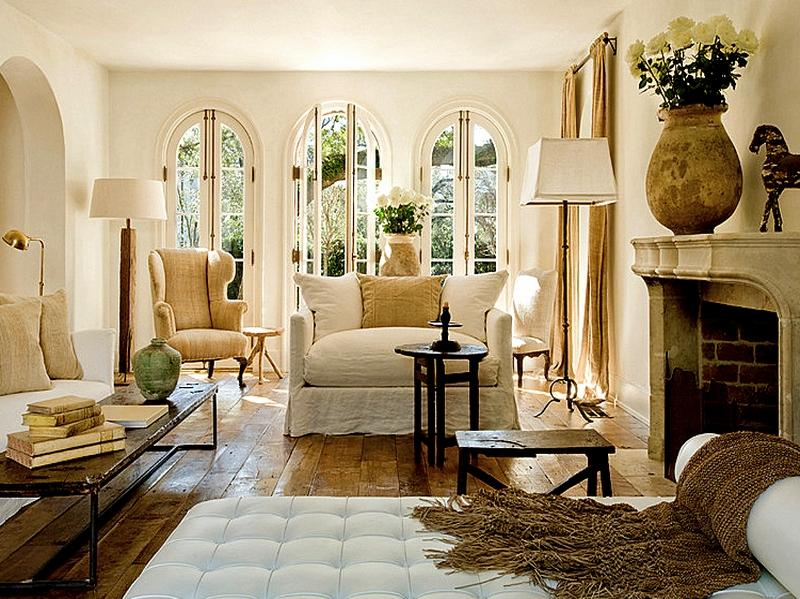 Photos Country French Living Rooms