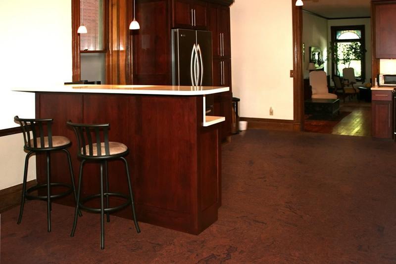 Mahogany Salami Cork Flooring, Online Cork Flooring shop- Cork ...