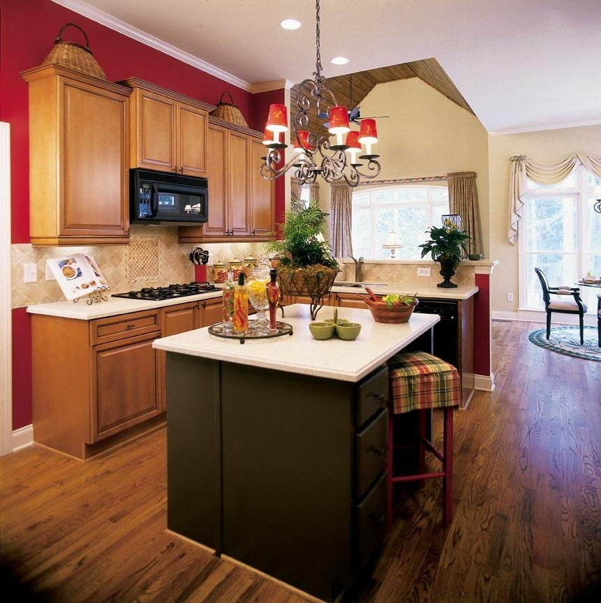 Red Kitchen Decorating Ideas Briarcliffcottage Kitchen Source