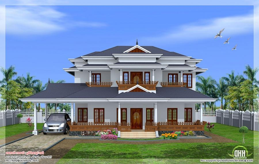 Kerala Model New Houses Photos