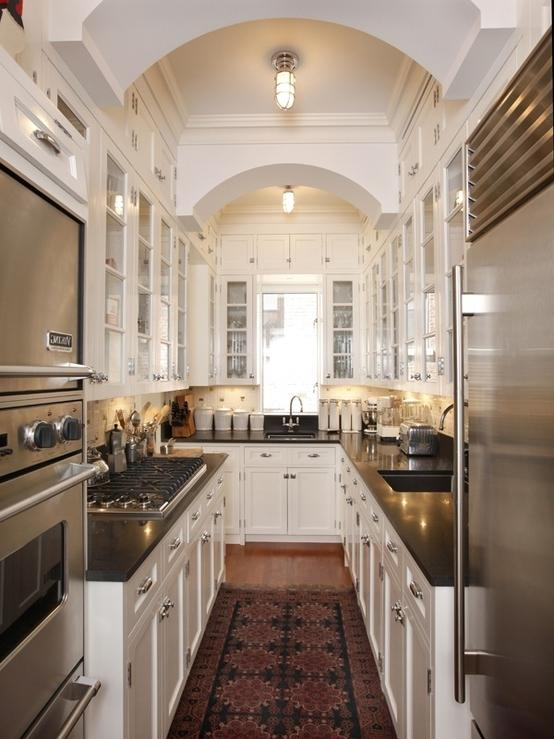 I love galley-style kitchens! by ChrissyMorgan