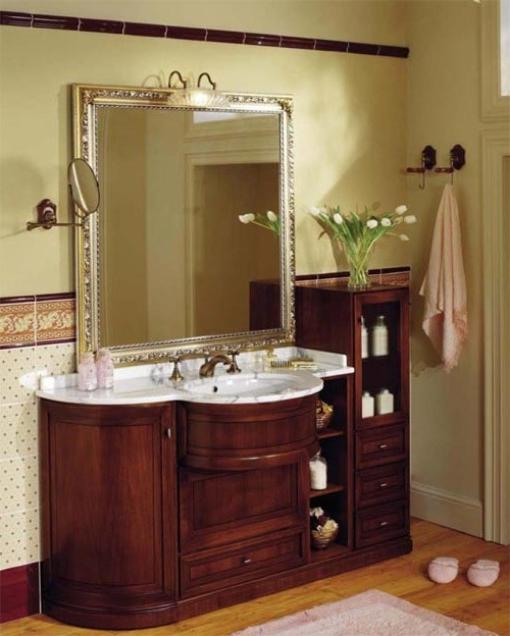Legion wm6554 55 antique bathroom vanity antique cherry finish - Antique Bathroom Photo
