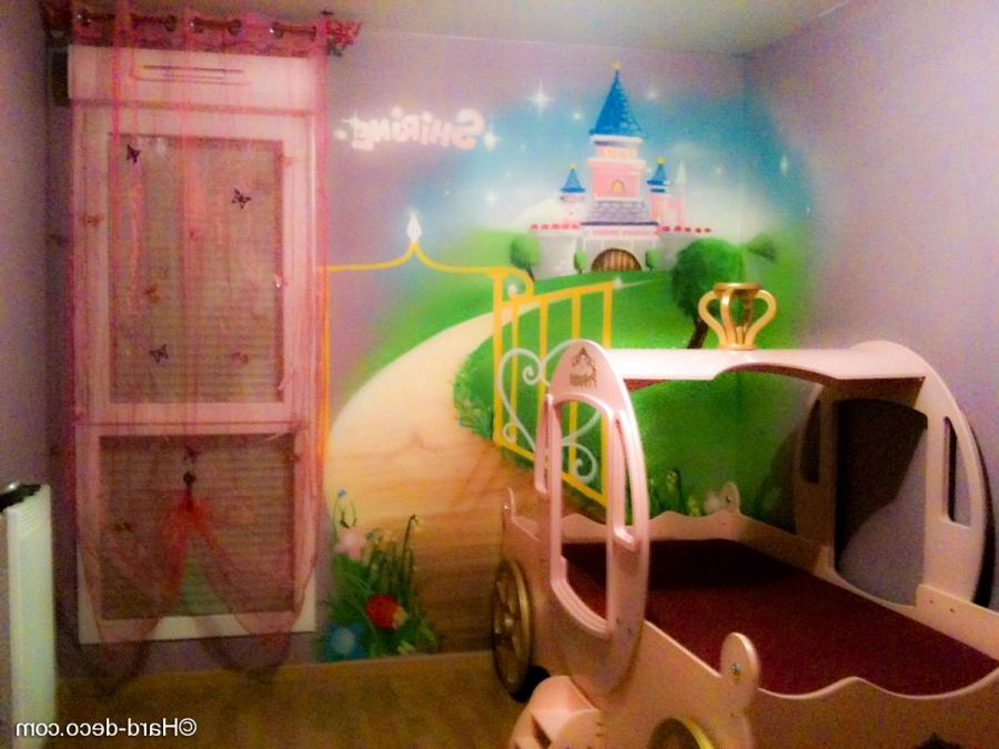 Photo decoration chambre princesse - Creation deco chambre ...