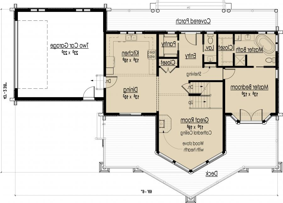 House photo plan for Eco friendly floor plans
