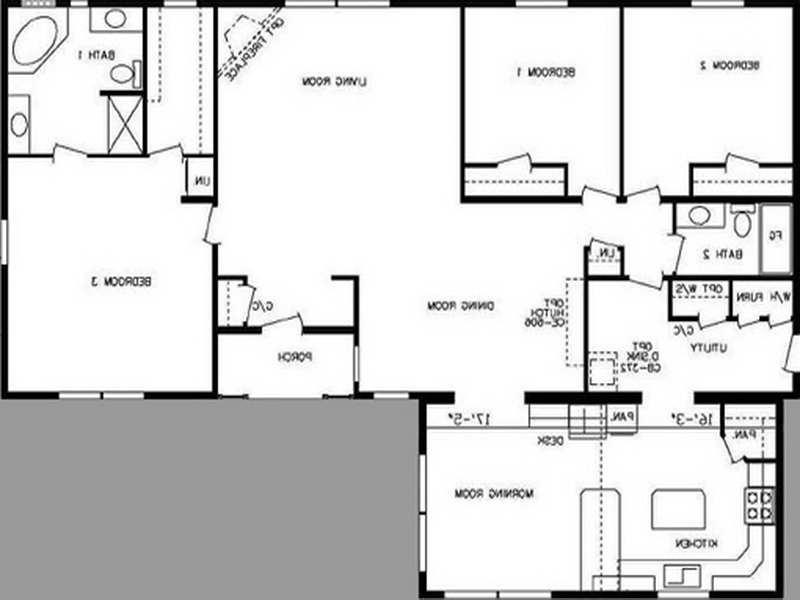 Double Wide Floor Plans With Photos