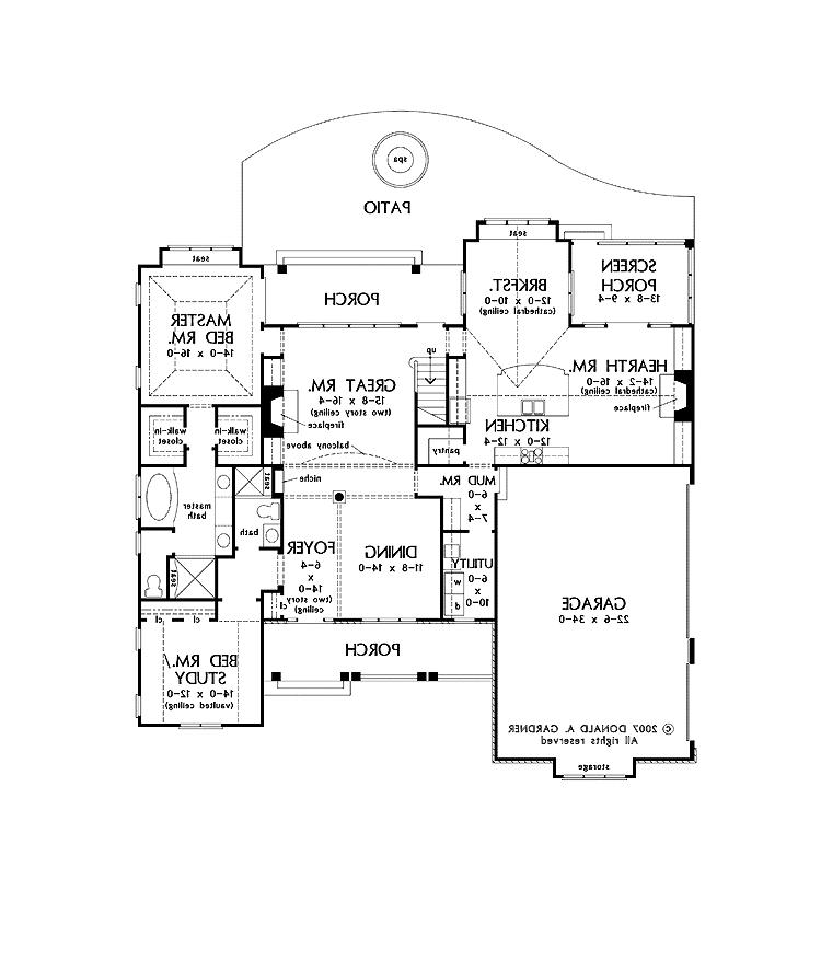 English cottage house plans photos for Old world cottage house plans
